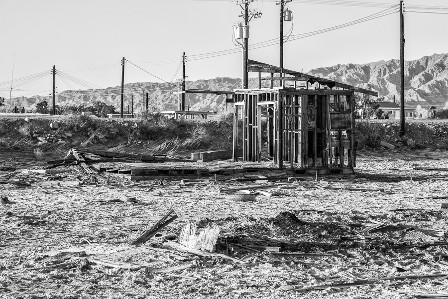Suburban Ruins: Bombay Beach at the Salton Sea, California