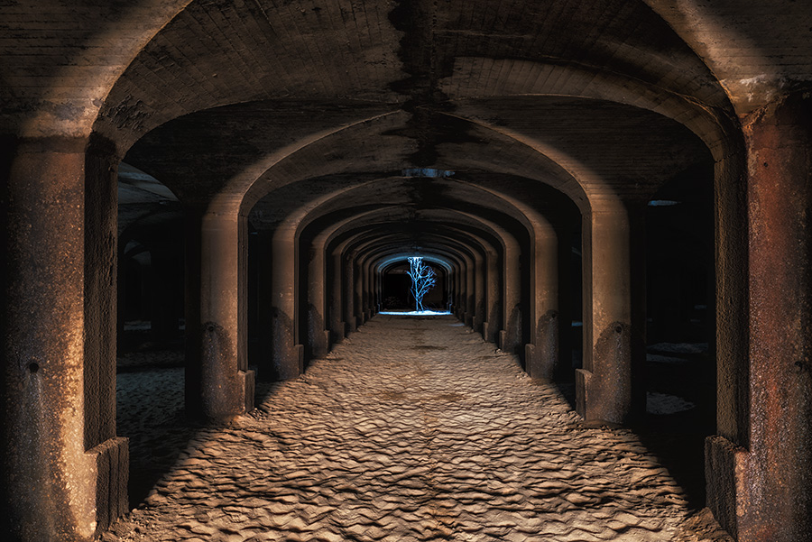 Light Through the Catacombs