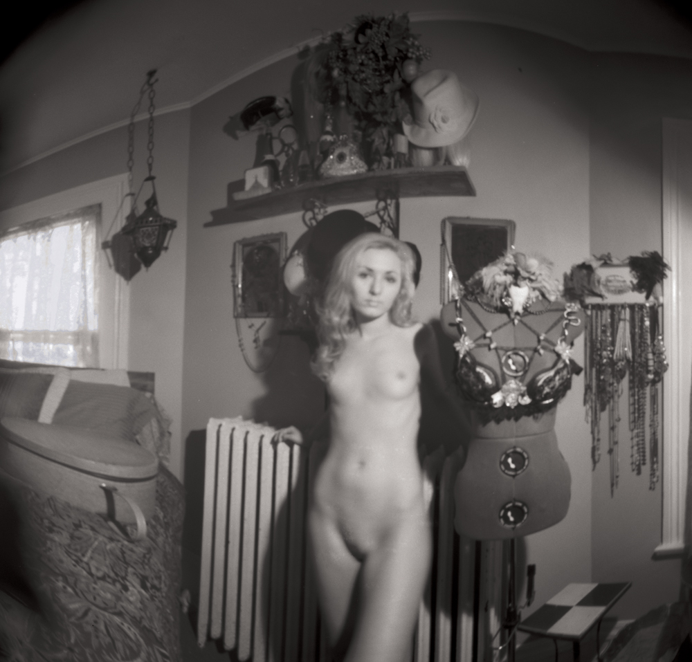 Nude at Home – Pinhole Camera Portrait
