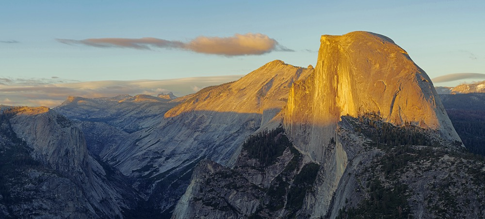 Alpenglow On Half Dome
