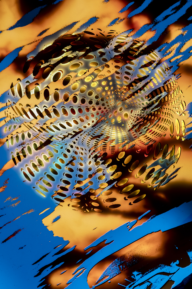 Abstract Metallics