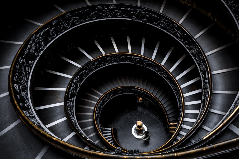 Bramante Staircase - Vatican Museum