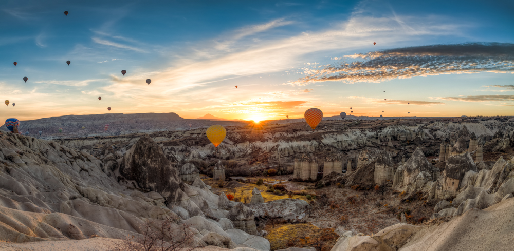 Cappadocia Love Valley sunrise
