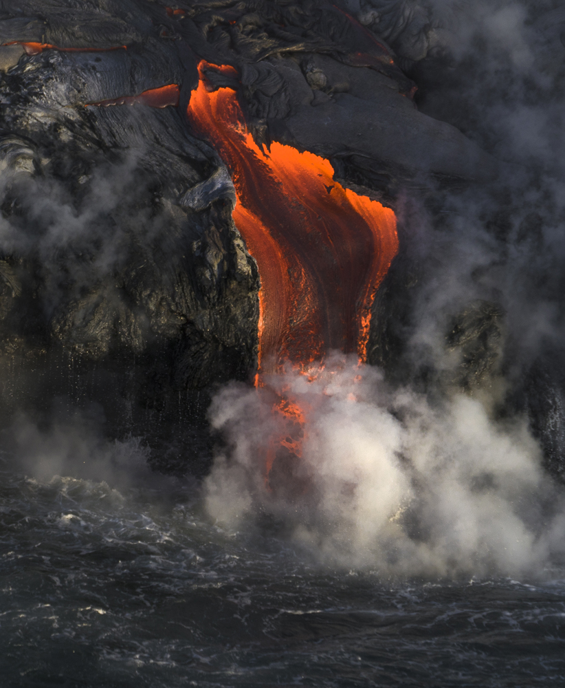 Kilauea's Might