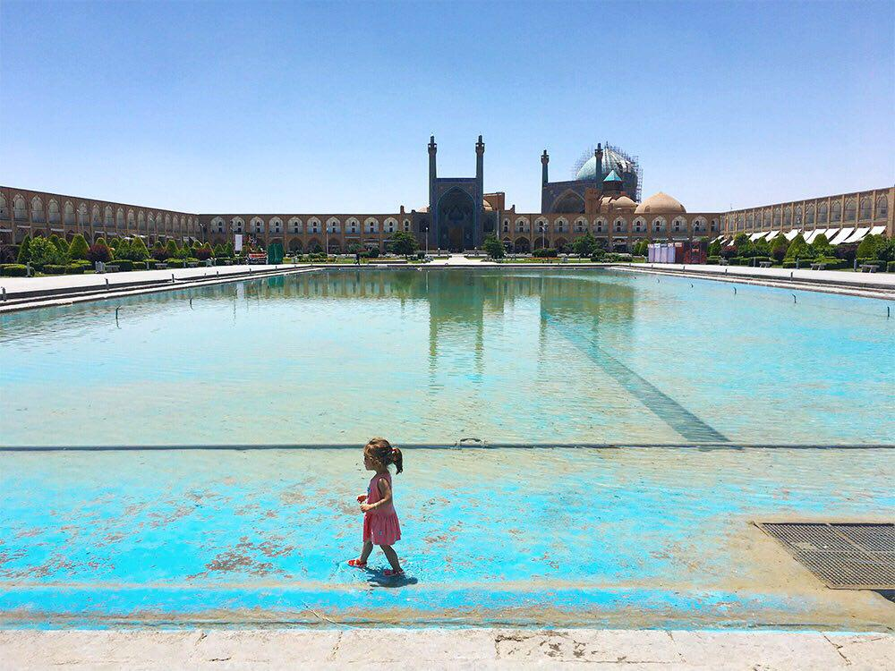 The color of my childhood in Esfahan