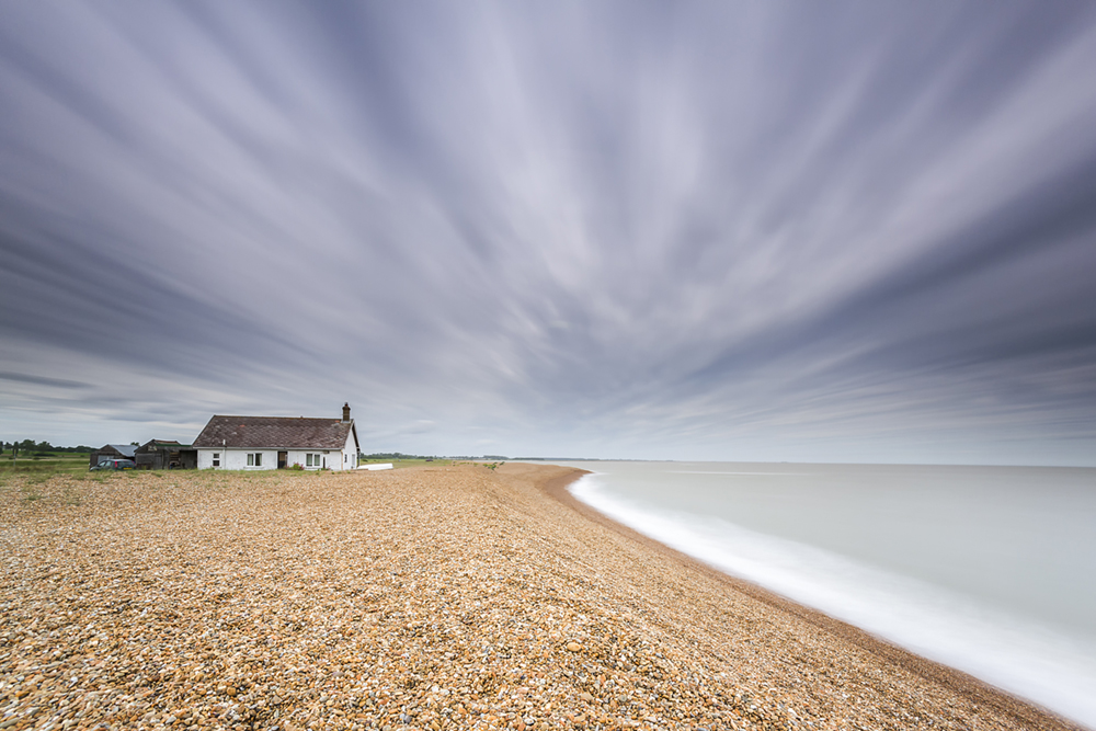 the cabin on the coast (Shingle Street)