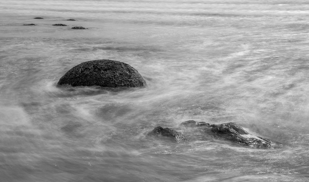 Boulders and waves