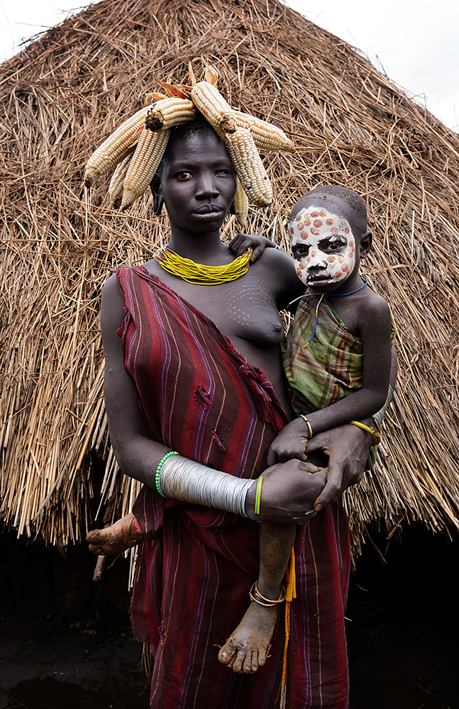 The Surma women