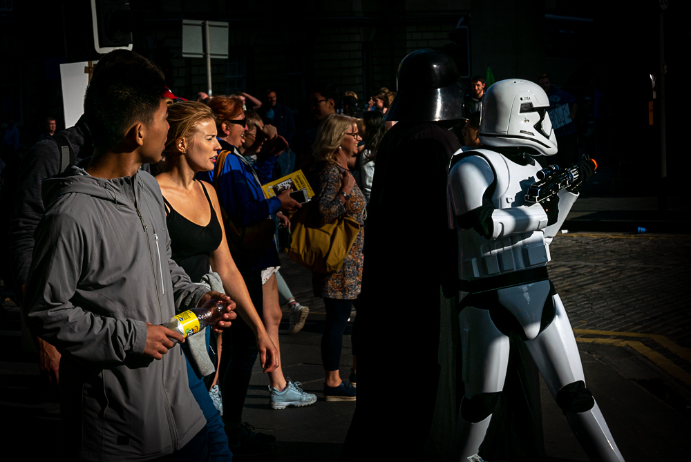 Follow me my warriors!