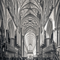 Salisbury Cathedral, Quire & Nave