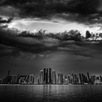 Doha Skyline Set