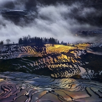 Hani terraces  of china