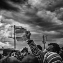 Macedonia Greece Border / inside the refugees camp 2016