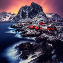 The Red Cabins