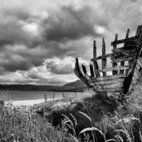 Scottish Boat Skeleton