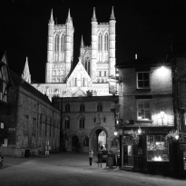 Lincoln , England- home of the Magna Carta