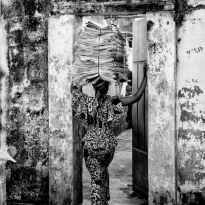 Woman in Benin