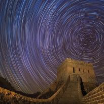 Great Wall Night in China