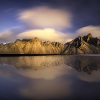 Vestrahorn through time and seasons