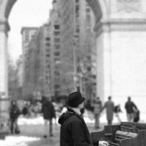 Urban Piano Man