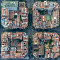 Life from Above - The Streets of Barcelona