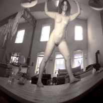Nude at Home - With a Pinhole Camera