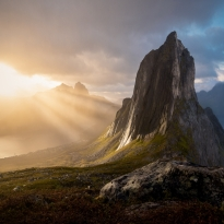 Light Rays Of Senja