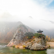 Landscapes in South Korea
