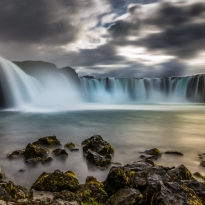 Iceland - At the edge of Godafoss