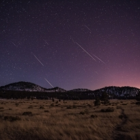 Geminid Meteor Shower - Sunset Crater
