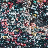 Junkyard for cars